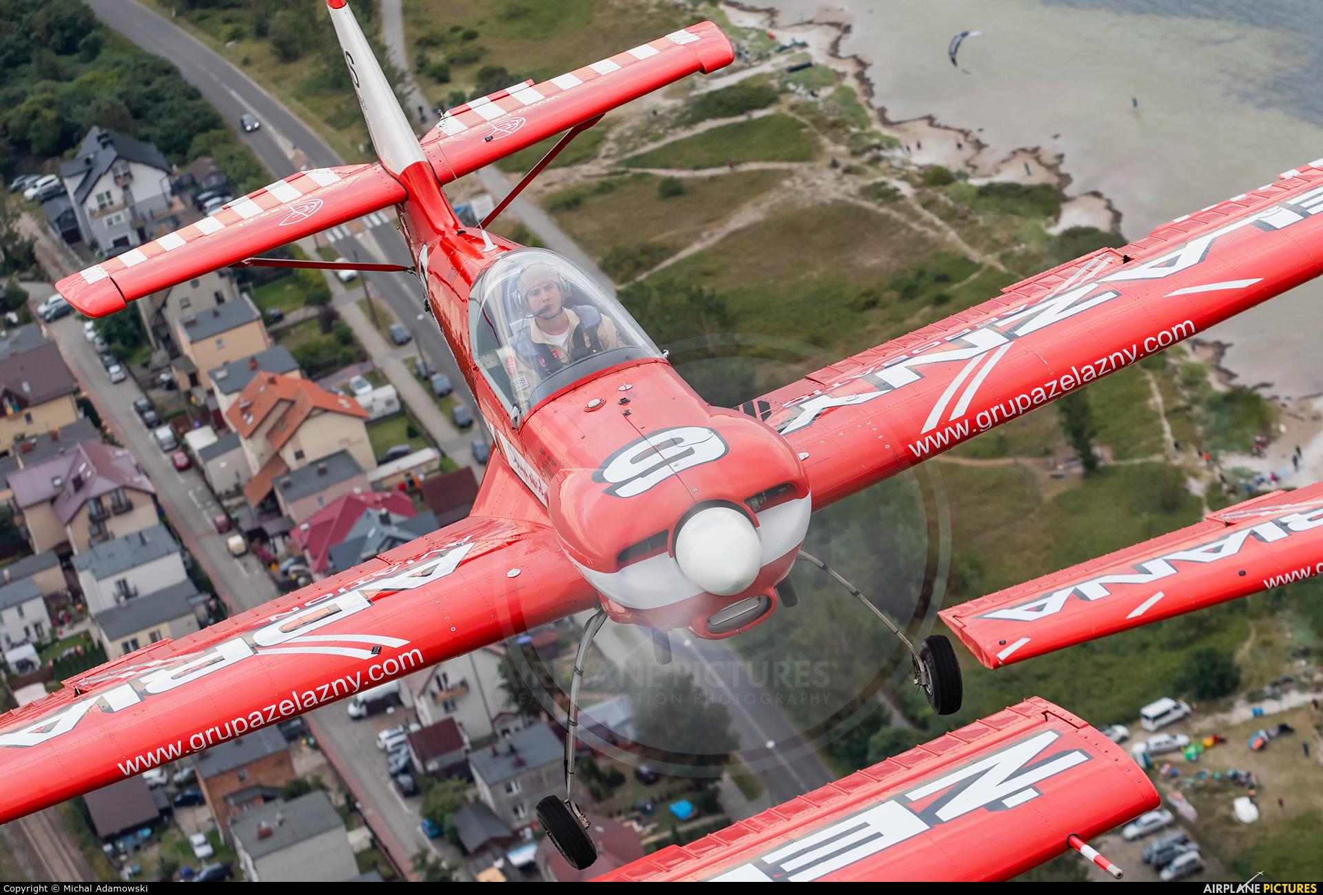Grupa Akrobacyjna Żelazny - Acrobatic Group SP-AUC aircraft at In Flight - Poland