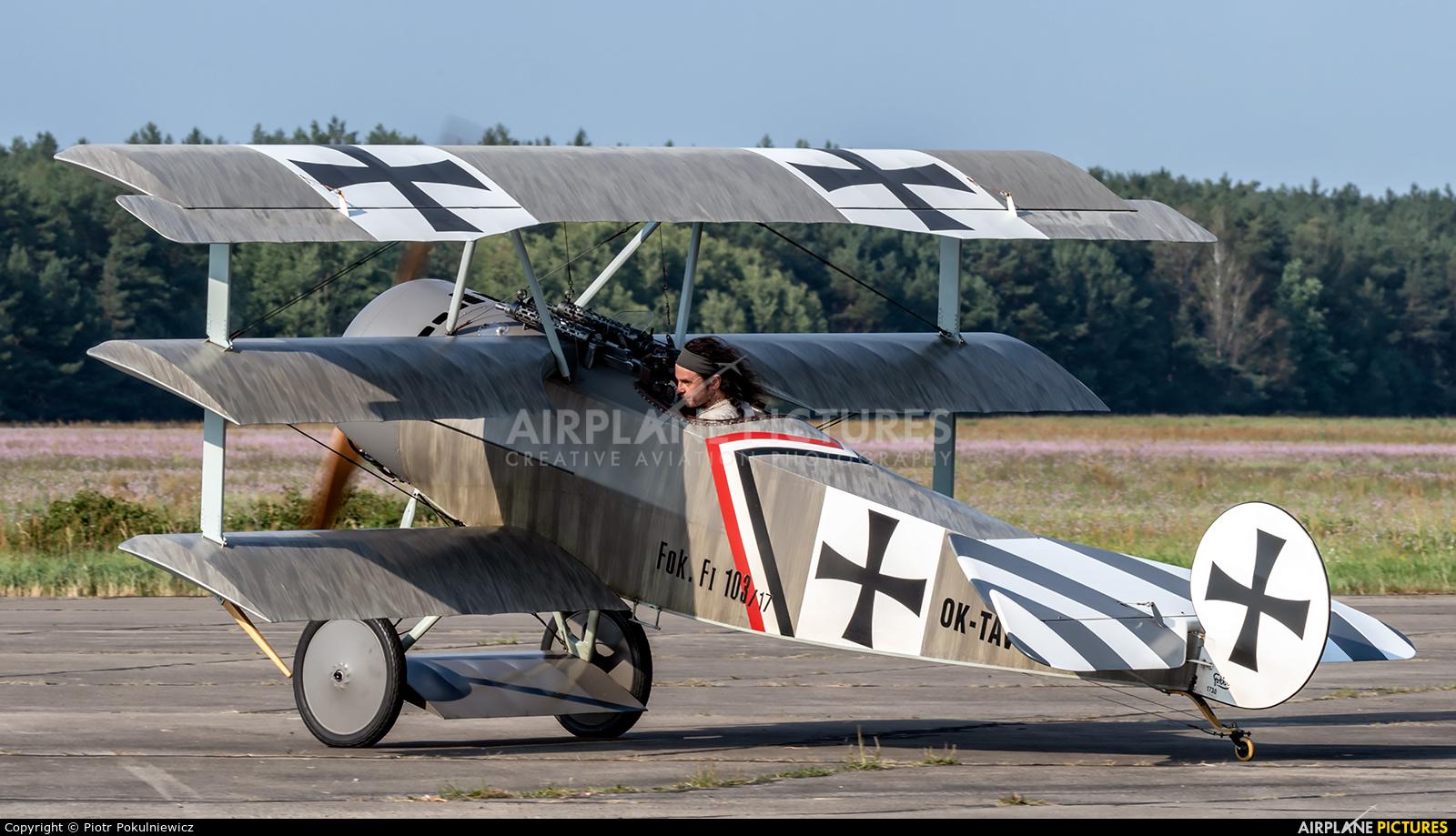 Private OK-TAV58 aircraft at Piła