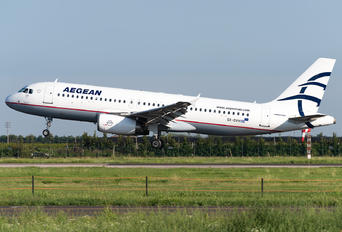SX-DVH - Aegean Airlines Airbus A320