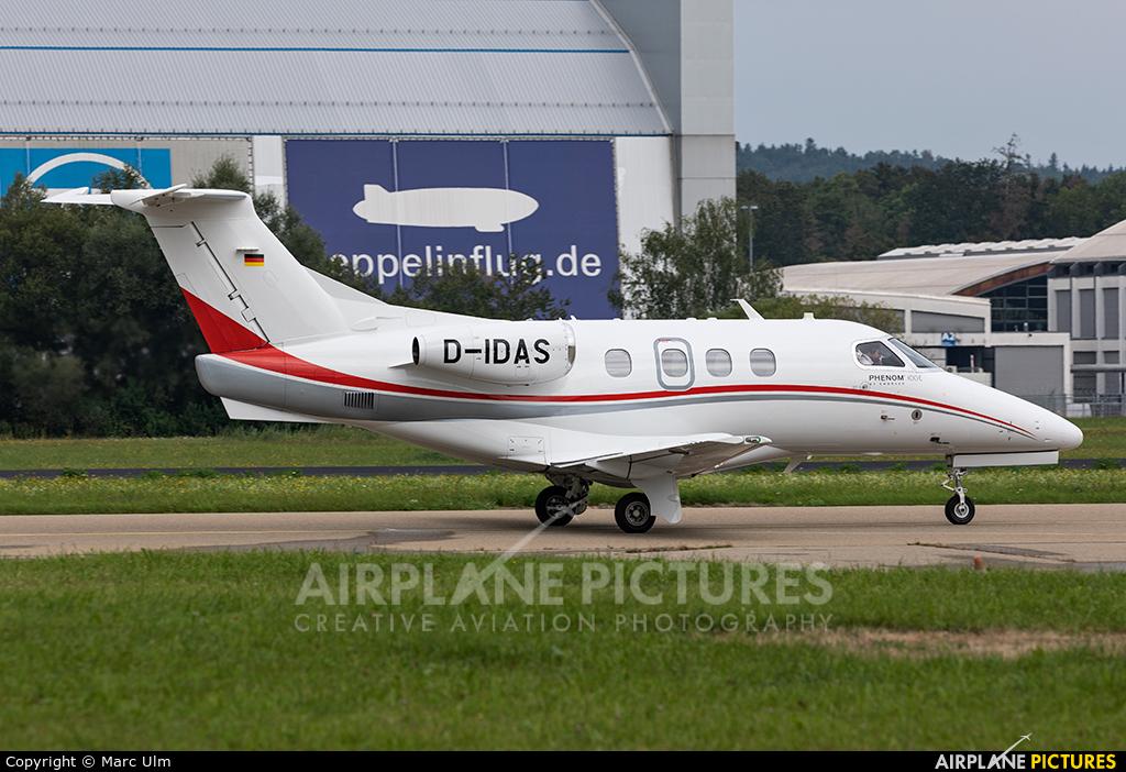 DAS Privat Jets D-IDAS aircraft at Friedrichshafen