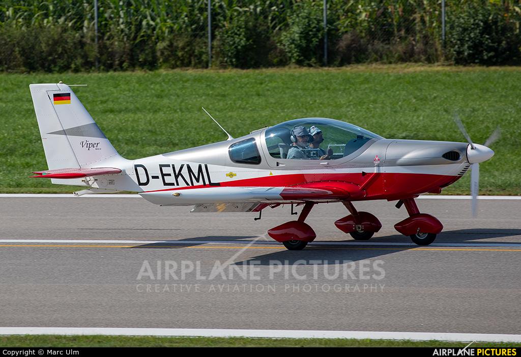 Private D-EKML aircraft at Augsburg