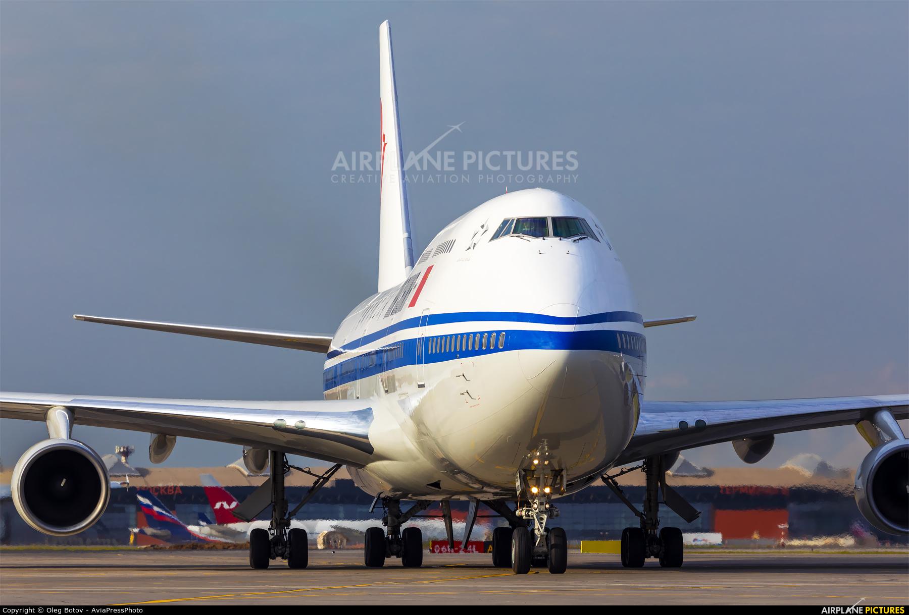 Air China B-2447 aircraft at Moscow - Sheremetyevo