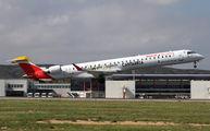 EC-LJR - Air Nostrum - Iberia Regional Canadair CL-600 CRJ-1000 aircraft