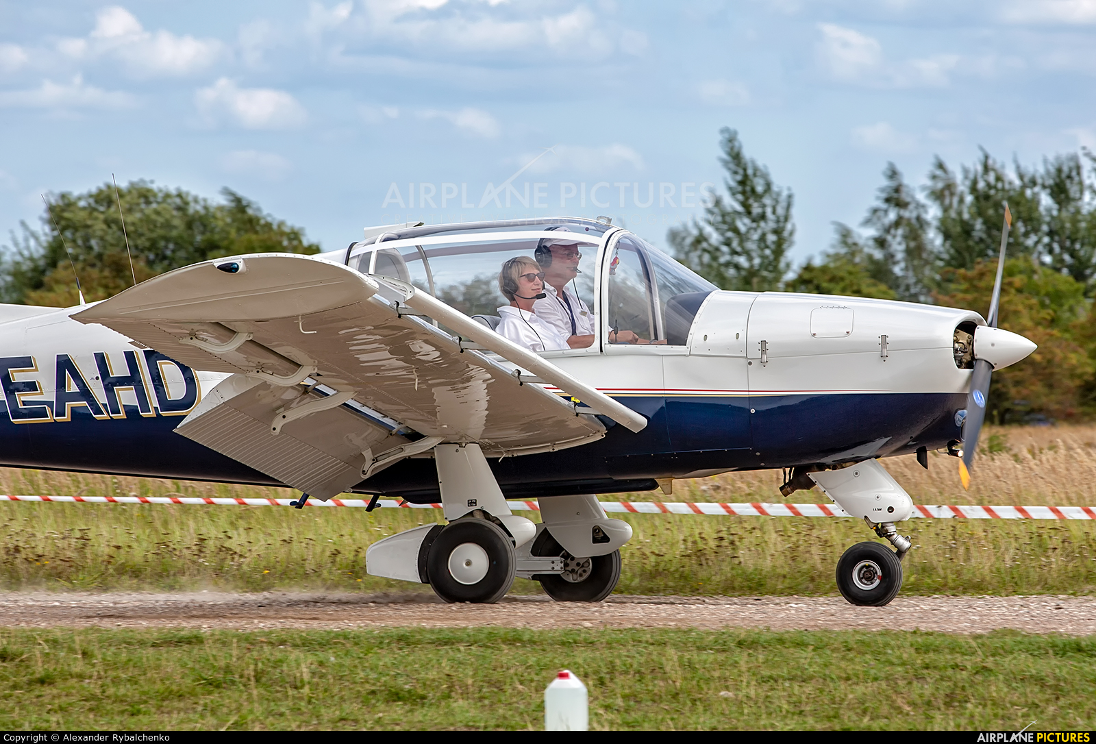 Private D-EAHD aircraft at Kaliningrad/Devau