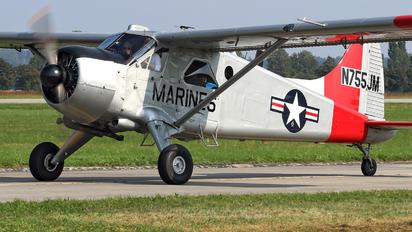 N755JM - Private de Havilland Canada U-6A Beaver