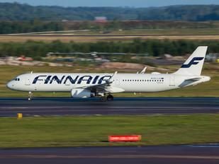 OH-LZU - Finnair Airbus A321