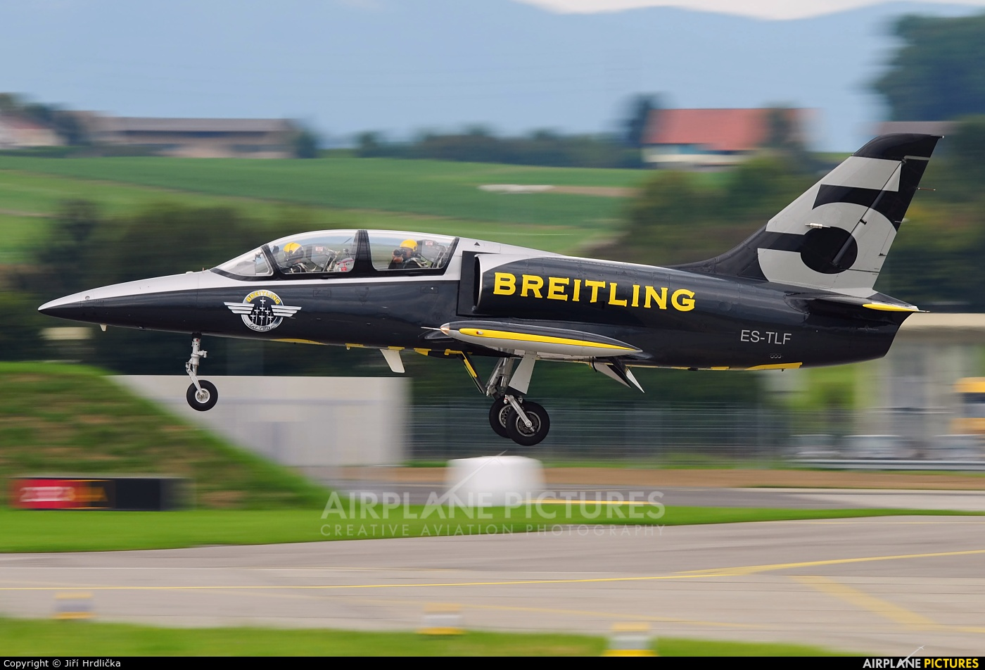 Breitling Jet Team ES-TLF aircraft at Payerne