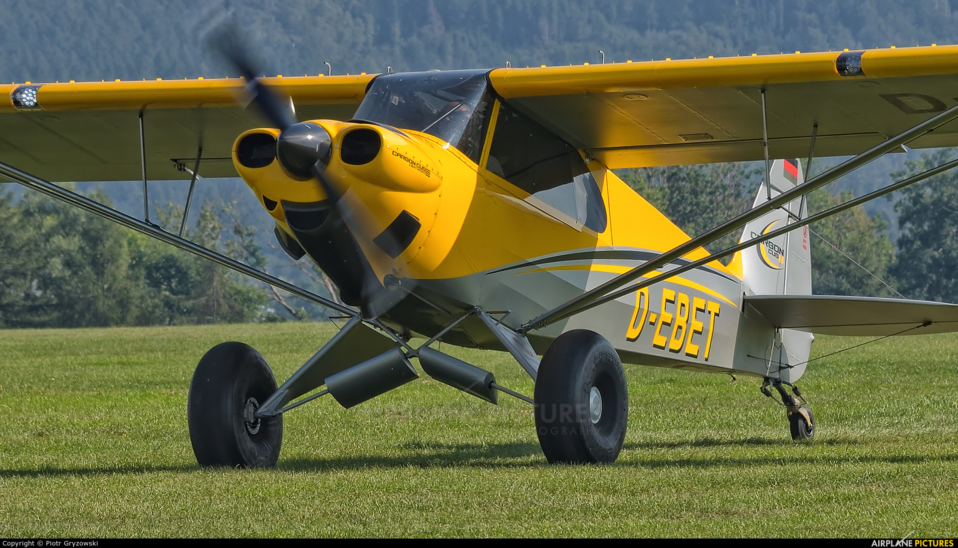 Private D-EBET aircraft at Bielsko-Biała - Aleksandrowice