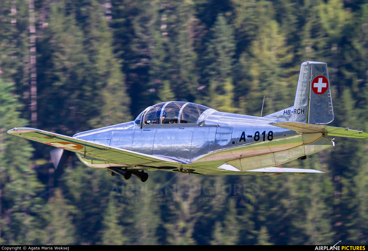 PrivatAir HB-RCH aircraft at St. Stephan
