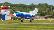 Rare visit of Motor Sich Yak40 to Pardubice title=