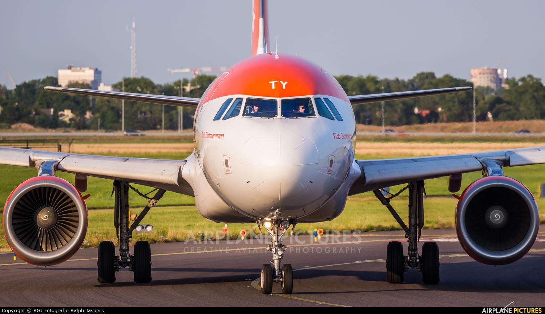 easyJet G-EZTY aircraft at Amsterdam - Schiphol
