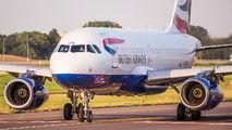 G-EUPN - British Airways Airbus A319 aircraft