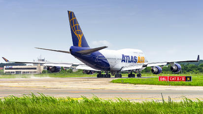 N465MC - Atlas Air Boeing 747-400