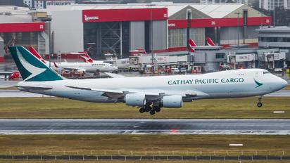 B-LJB - Cathay Pacific Cargo Boeing 747-8F