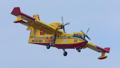 I-DPCY - Italy - Protezione civile Canadair CL-415 (all marks)