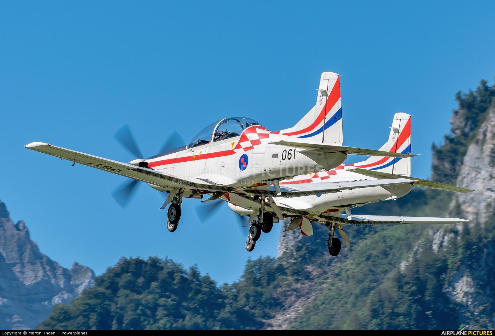 Croatia - Air Force 061 aircraft at Mollis