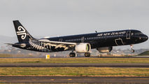 ZK-NNA - Air New Zealand Airbus A321 NEO aircraft
