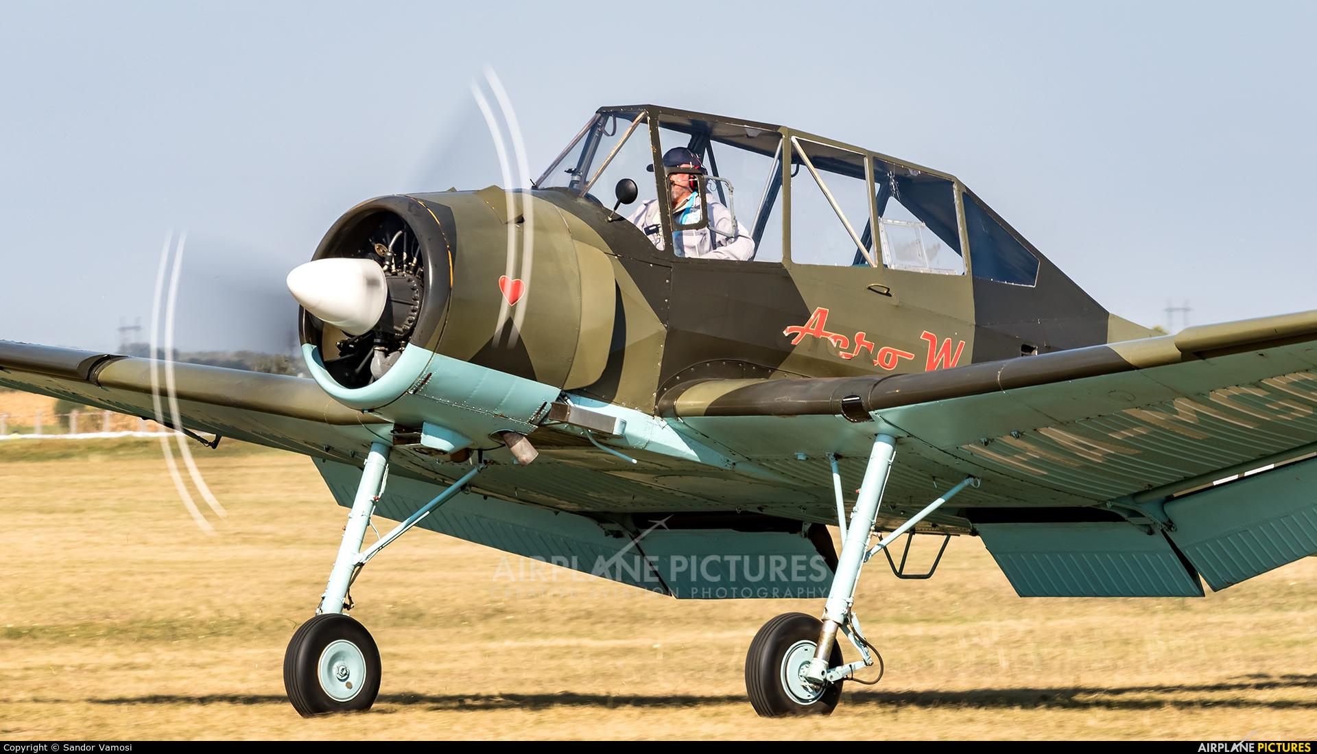 Private HA-MGP aircraft at Szeged