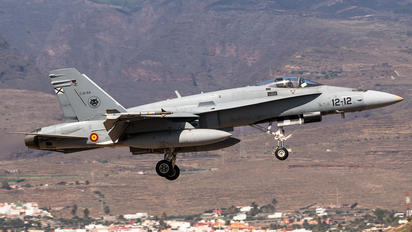 C.15-54 - Spain - Air Force McDonnell Douglas EF-18A Hornet
