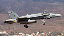 C.15-54 - Spain - Air Force McDonnell Douglas EF-18A Hornet aircraft
