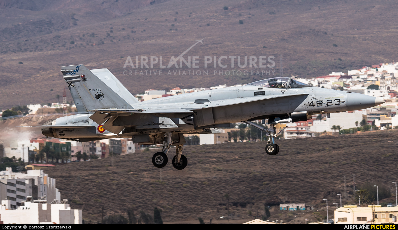 Spain - Air Force C.15-96 aircraft at Aeropuerto de Gran Canaria
