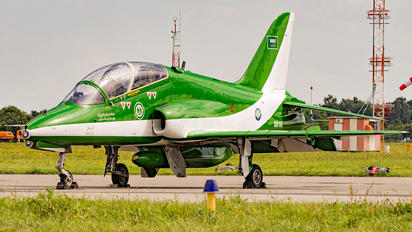 8816 - Saudi Arabia - Air Force: Saudi Hawks British Aerospace Hawk 65 / 65A
