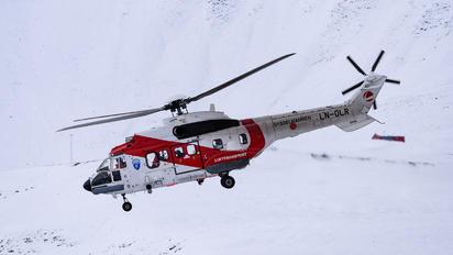 LN-OLR - Lufttransport Aerospatiale AS332 Super Puma L (and later models)