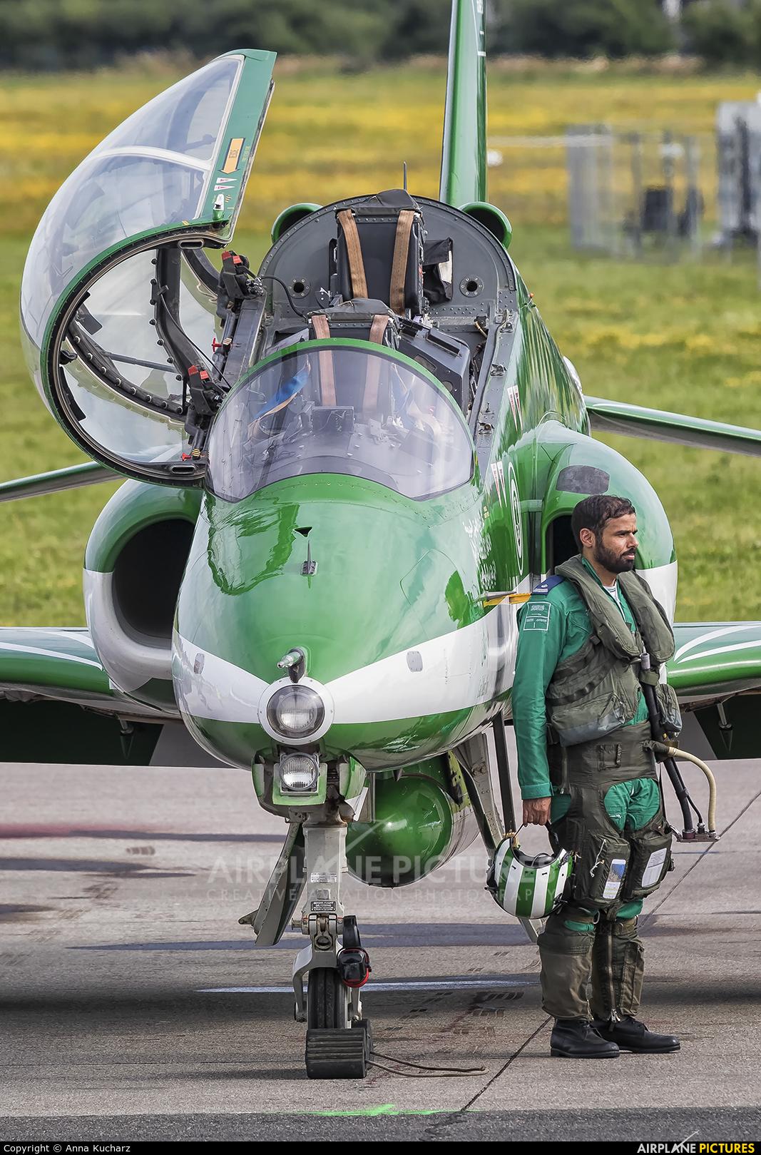 Saudi Arabia - Air Force: Saudi Hawks 071 aircraft at Gdynia- Babie Doły (Oksywie)