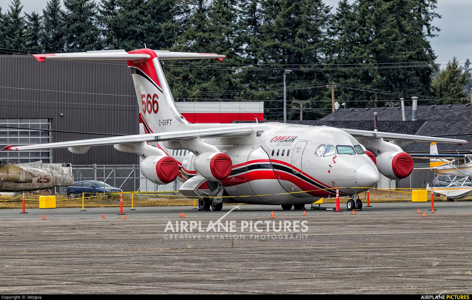 Conair C-GVFT aircraft at Abbotsford, BC