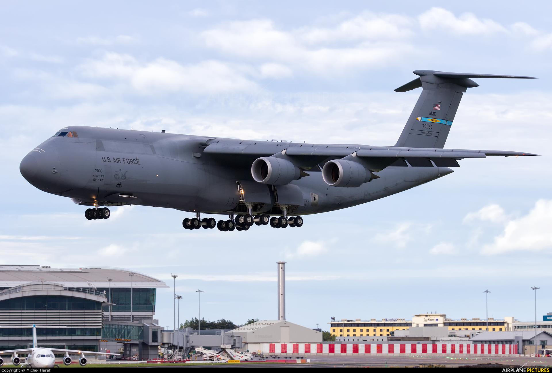 USA - Air Force 87-0036 aircraft at Dublin