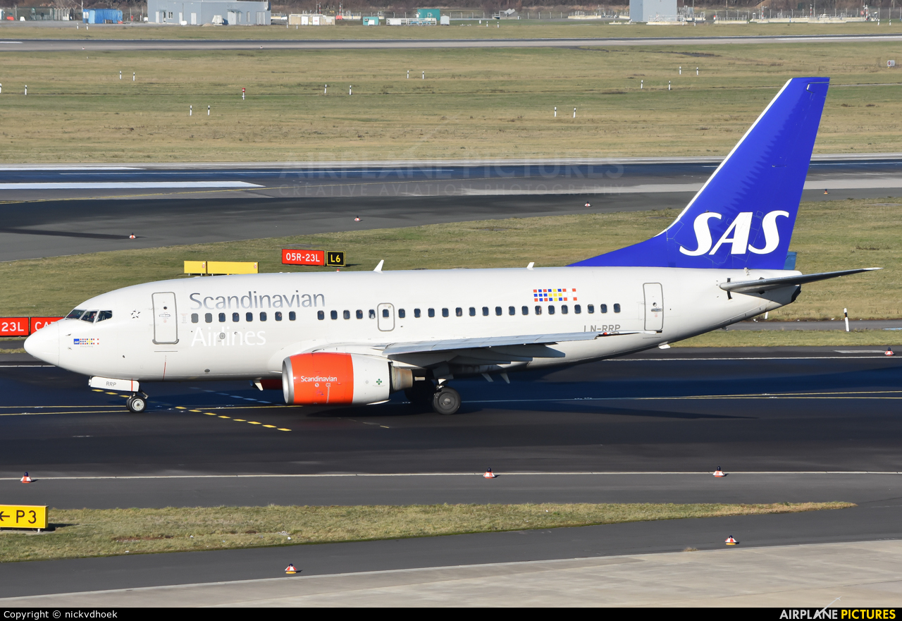 SAS - Scandinavian Airlines LN-RRP aircraft at Düsseldorf