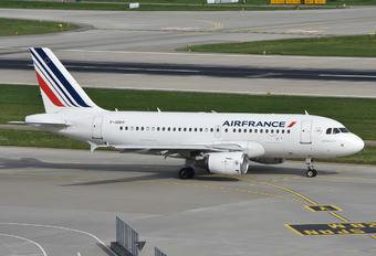 F-GRHY - Air France Airbus A319