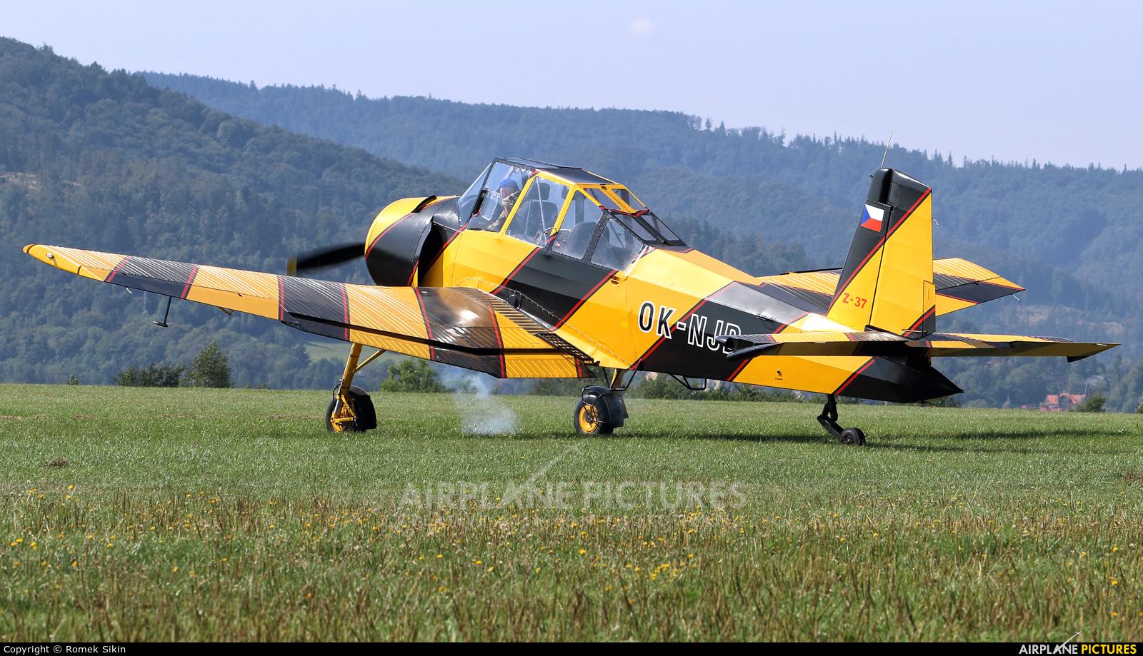 Private OK-NJD aircraft at Bielsko-Biała - Aleksandrowice
