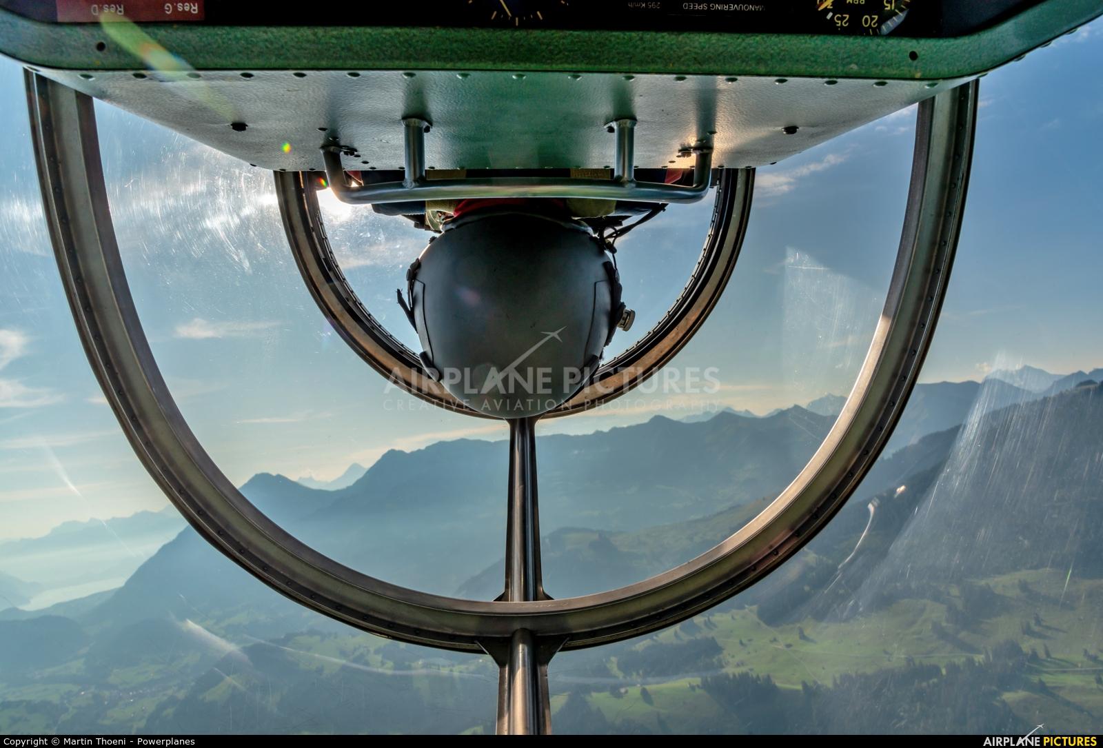 FFA Museum HB-RCJ aircraft at St. Stephan