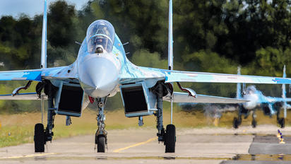 71 - Ukraine - Air Force Sukhoi Su-27