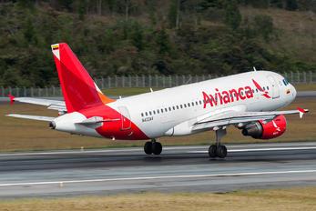 N422AV - Avianca Airbus A319