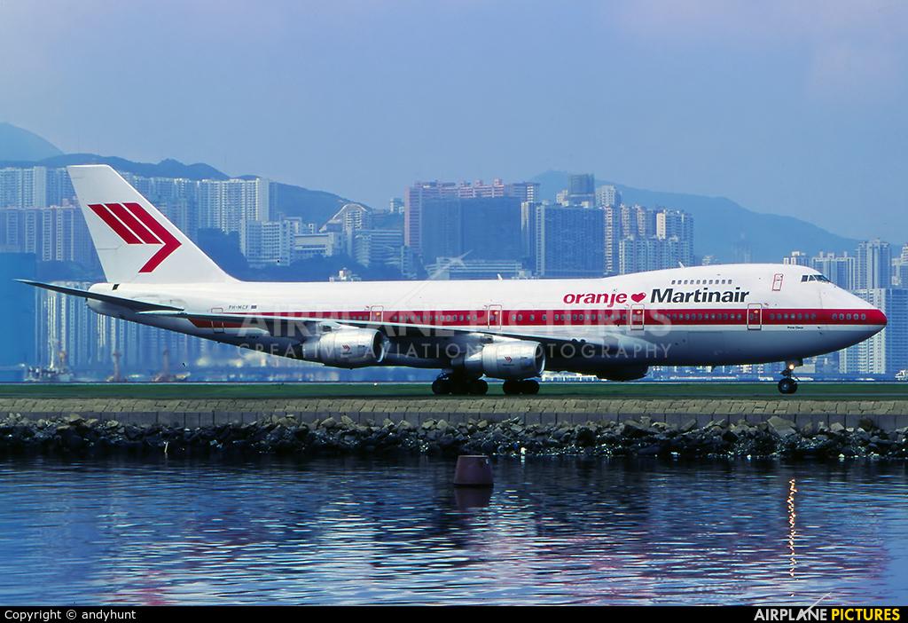 Martinair PH-MCF aircraft at HKG - Kai Tak Intl CLOSED
