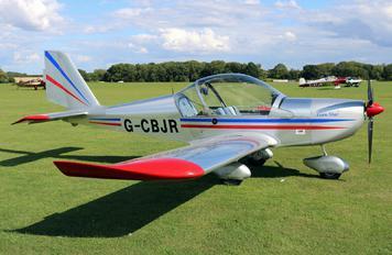 G-CBJR - Private Evektor-Aerotechnik EV-97 Eurostar