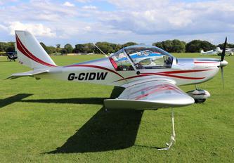 G-CIDW - Private Evektor-Aerotechnik EV-97 Eurostar