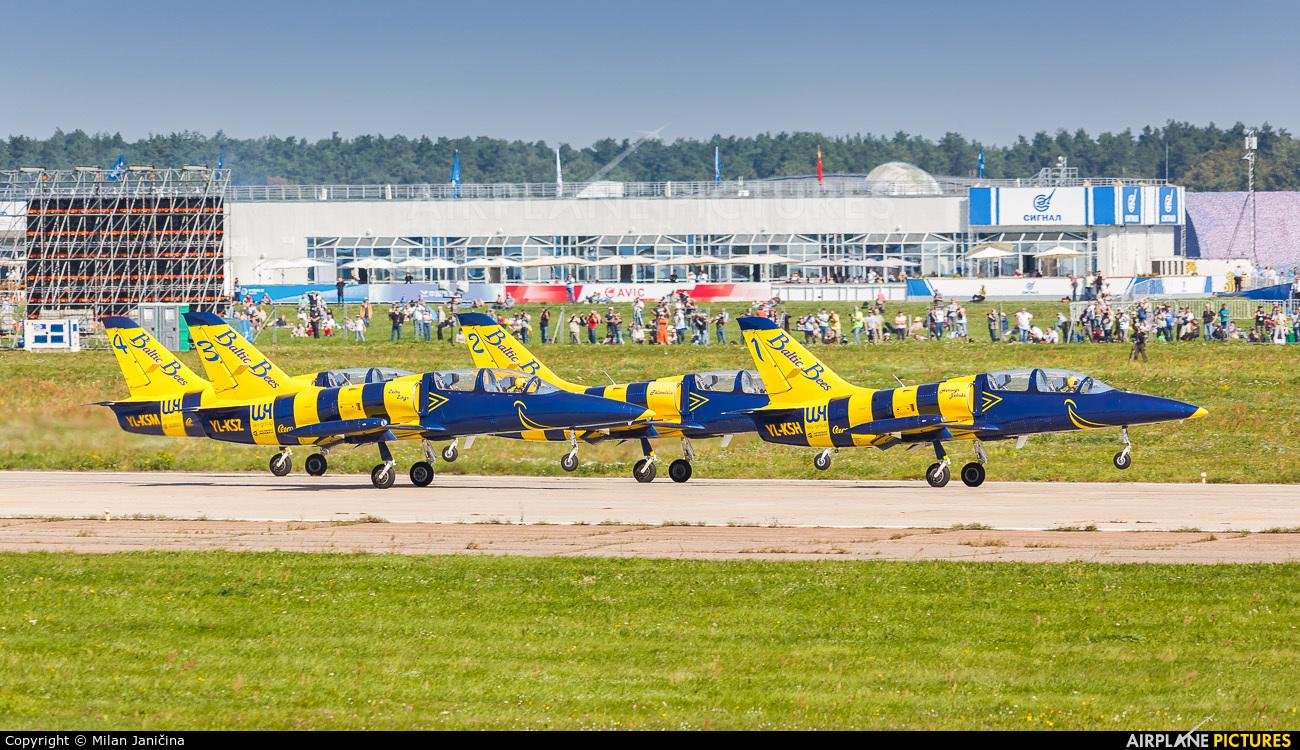Baltic Bees Jet Team - aircraft at Ramenskoye - Zhukovsky
