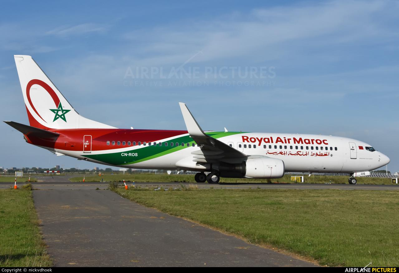 Royal Air Maroc CN-ROS aircraft at Amsterdam - Schiphol