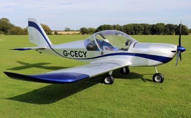 G-CECY - Private Evektor-Aerotechnik EV-97 Eurostar