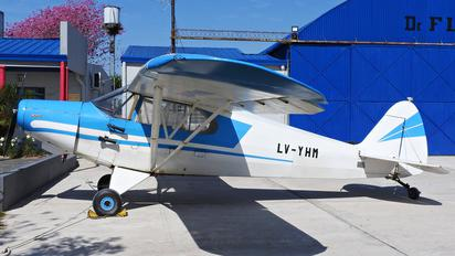LV-YHM - Private Piper PA-12 Super Cruiser