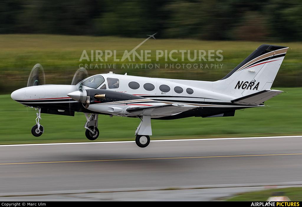 Private N6RA aircraft at Augsburg
