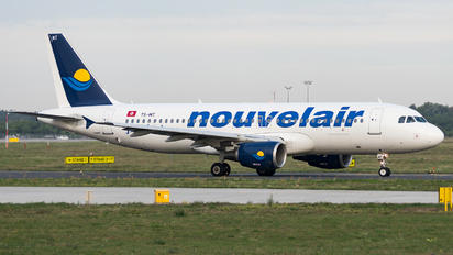 TS-INT - Nouvelair Airbus A320