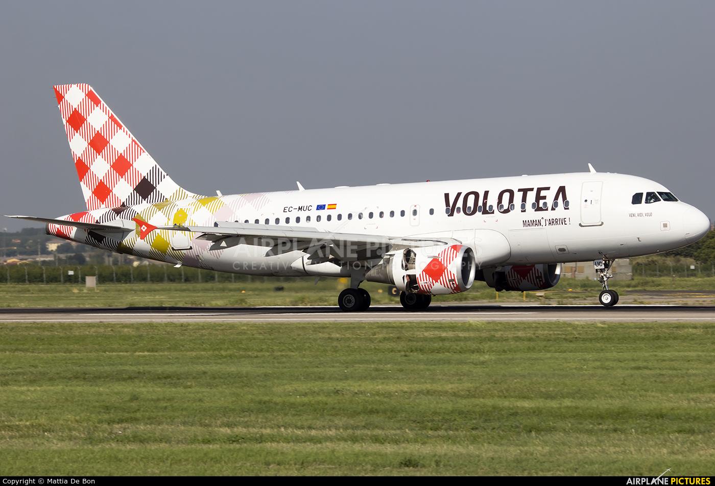 Volotea Airlines EC-MUC aircraft at Verona - Villafranca