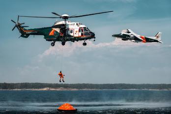 OH-HVP - Finland - Border Guard Eurocopter AS332 Super Puma