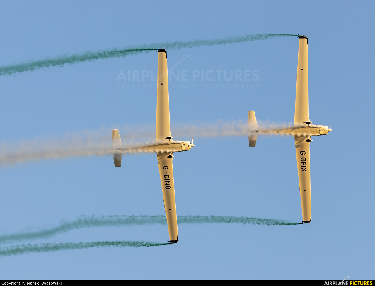 Aerosparx Display Team G-CINO aircraft at Rzeszów-Jasionka