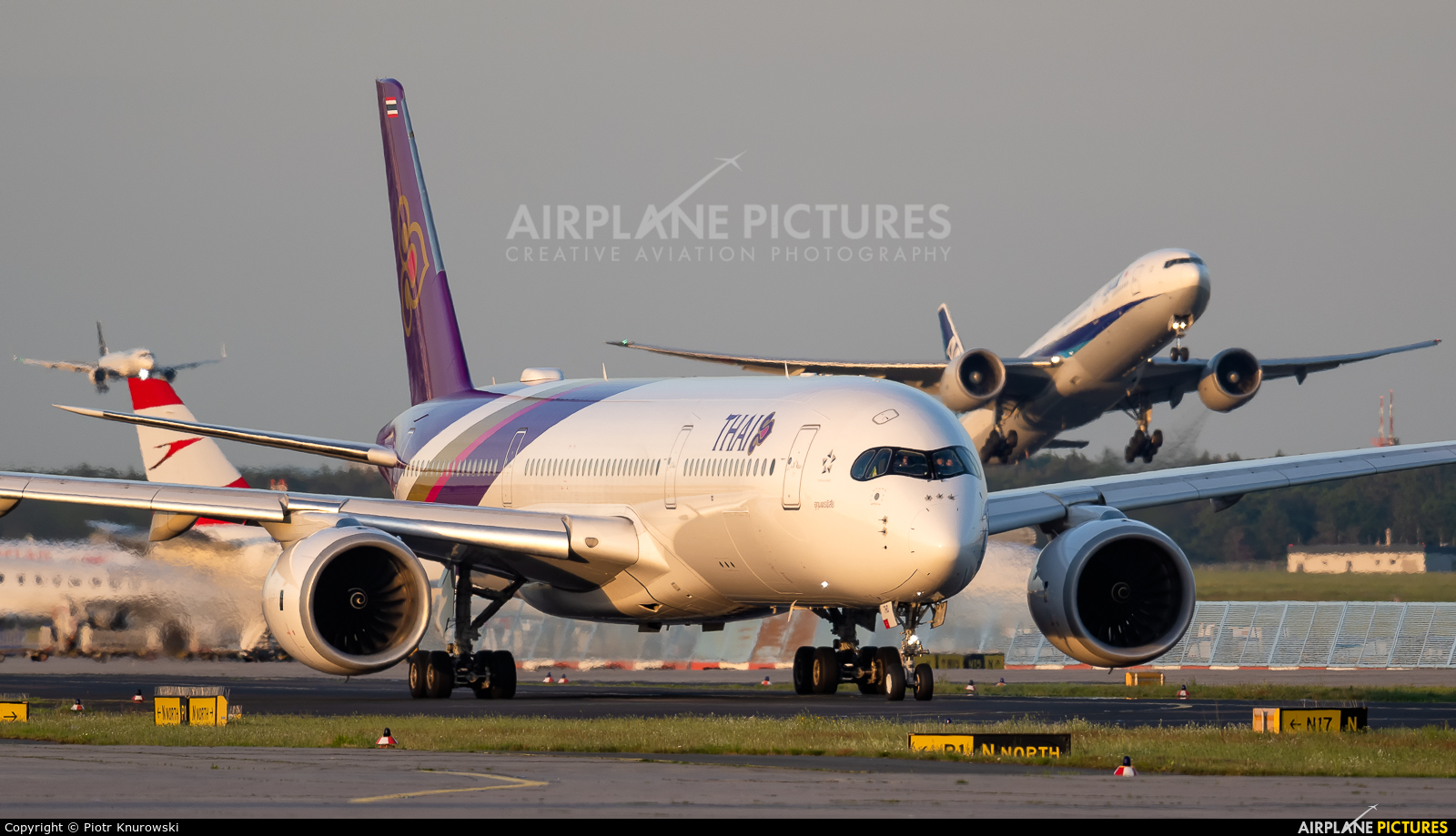 Thai Airways HS-THD aircraft at Frankfurt