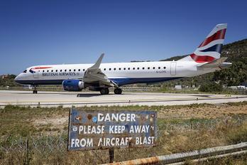 G-LCYS - British Airways - City Flyer Embraer ERJ-190 (190-100)